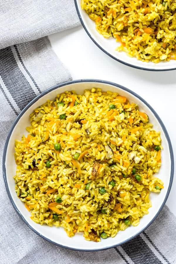 Turmeric Fried Rice