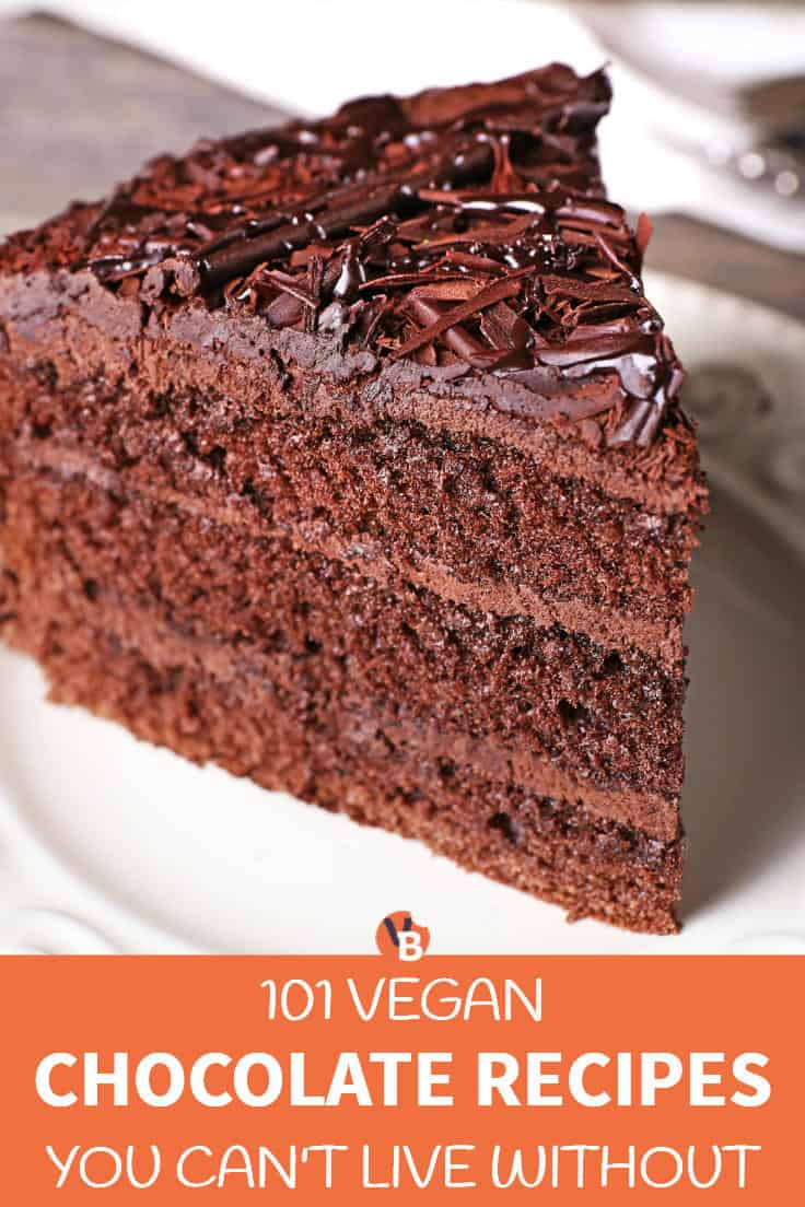 101 Vegan Chocolate Recipes You Can't Live Without