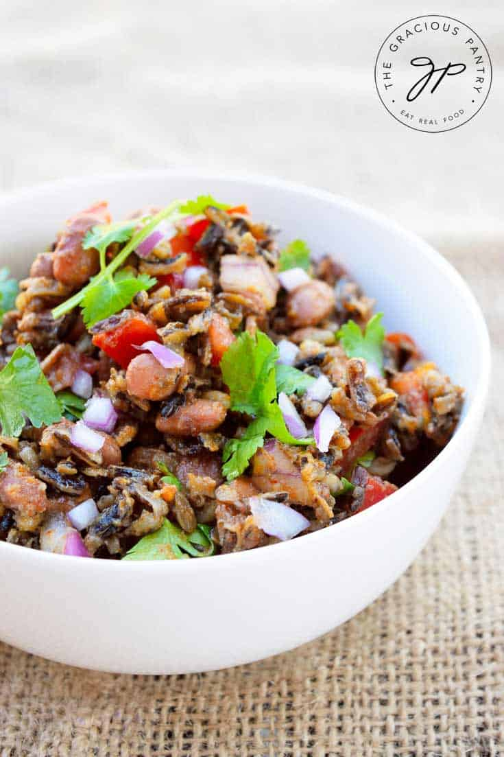 Wild Rice Mexican Salad