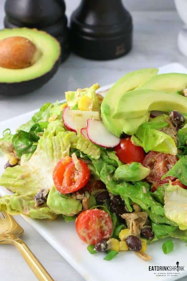 BBQ Jackfruit Salad