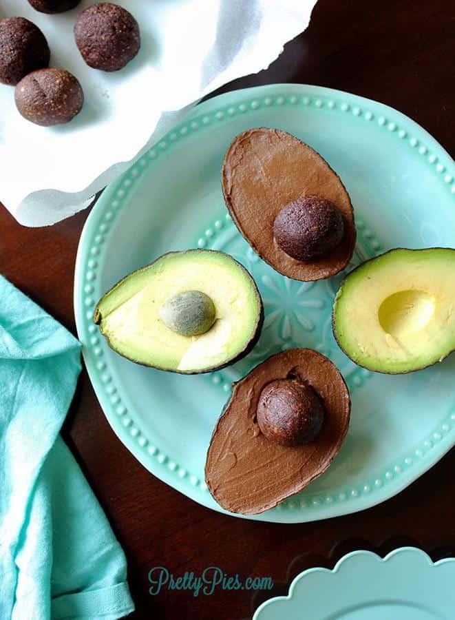 Chocolate Avocado Gelato
