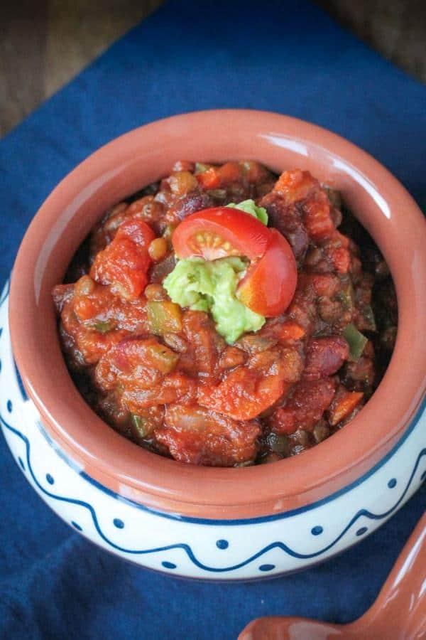 Pumpkin Lentil Chili