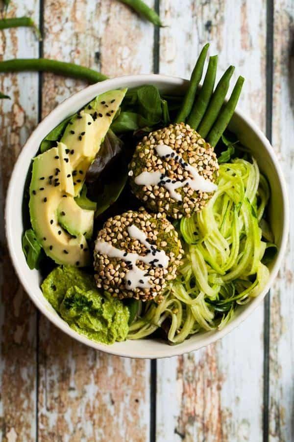 Supergreen Falafel Bowls