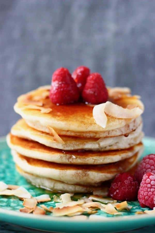 Coconut Flour Pancakes (Gluten-Free)