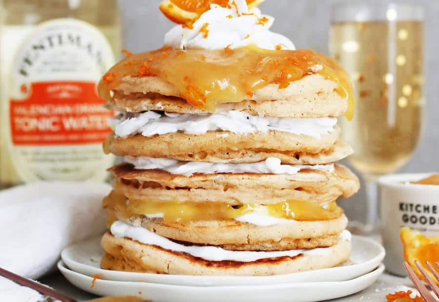 Easy Gin and Tonic Pancakes (Gluten-Free)
