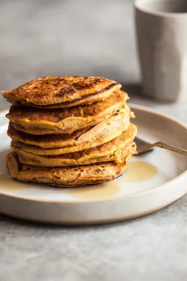Sweet Potato Millet Pancakes (Gluten-Free)