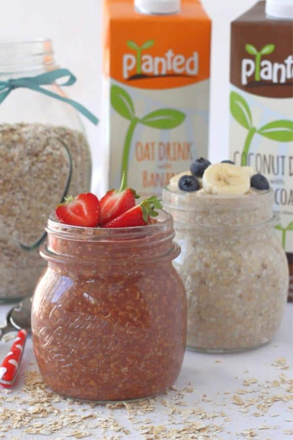 2-Ingredient Overnight Oats