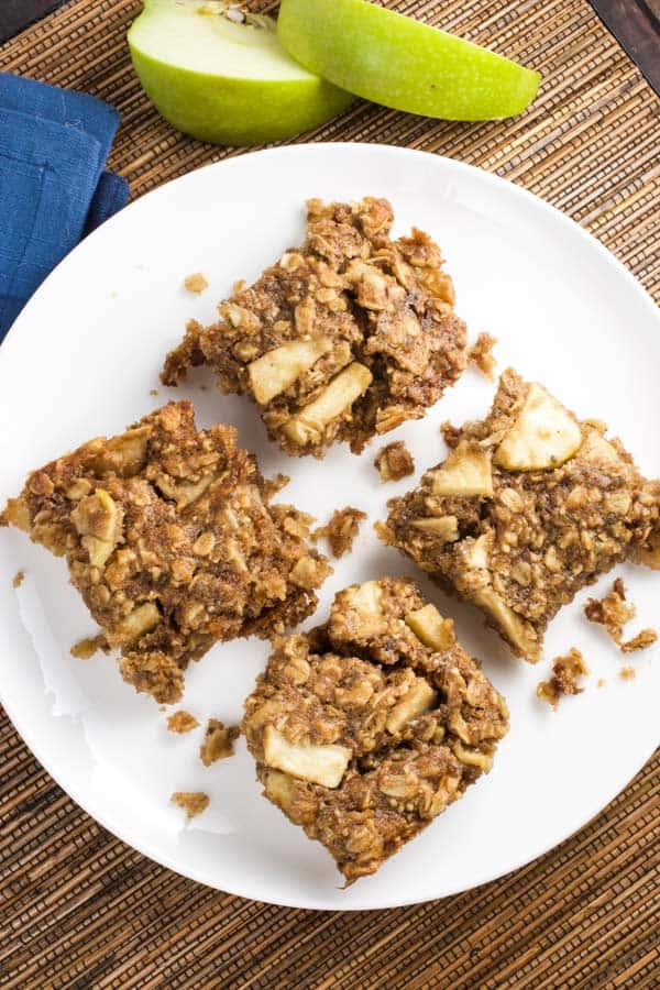 Apple Cinnamon Breakfast Squares