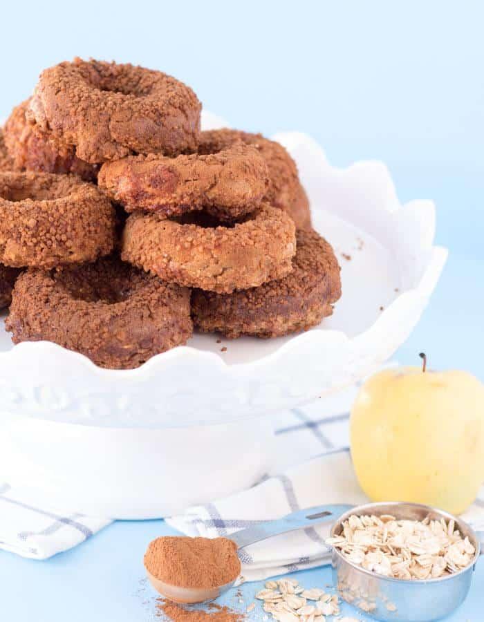 Apple Cinnamon Sugar Donuts
