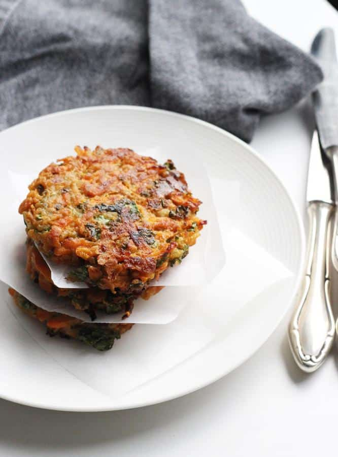Crispy Carrot Patties