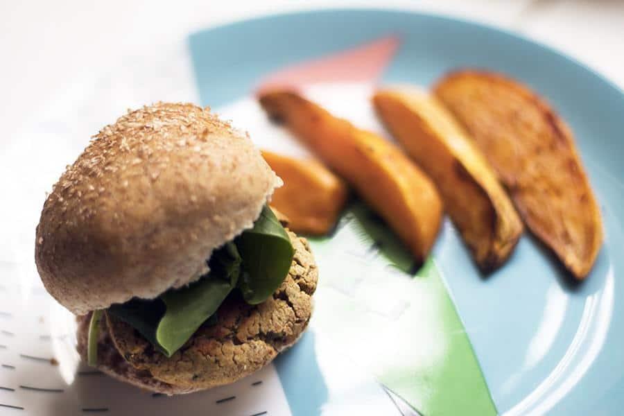 Falafel Sliders (Mini Burgers)