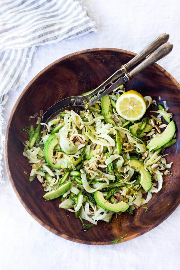 Fennel Asparagus Salad