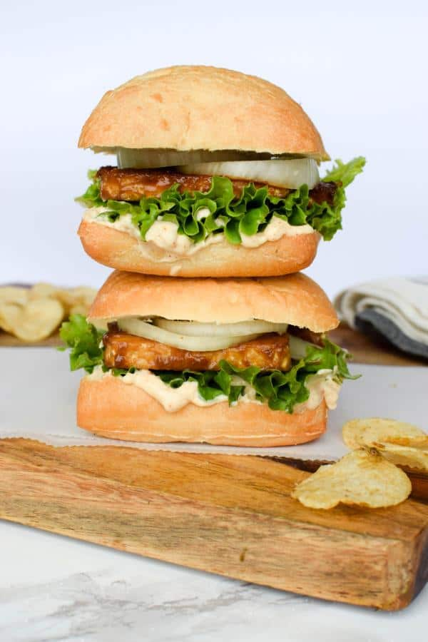 Mustard Maple Tempeh Sandwich