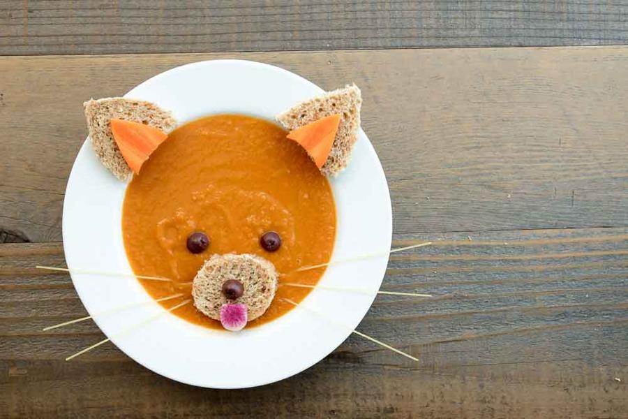 Red Panda Carrot Soup