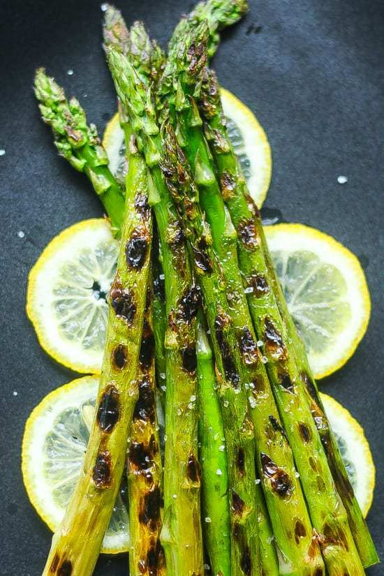 Simple and Quick Grilled Asparagus