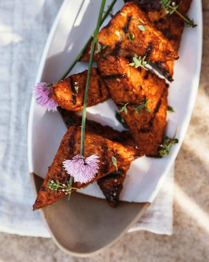 The Best Marinated and Grilled Tempeh