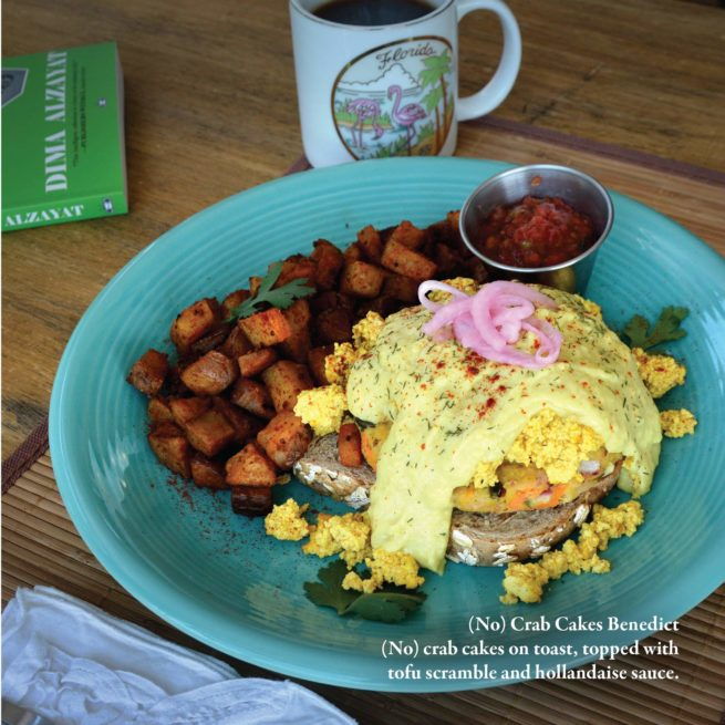 Two Dollar Radio Guide to Vegan Cooking: No Crab Cakes Benedict