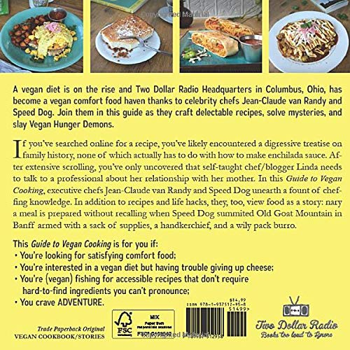 Two Dollar Radio Guide to Vegan Cooking back cover